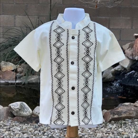 b6481c72672b0 Mexican Boys Guayabera - Mexican Boy's Shirt Boutique